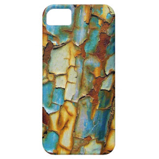 Blue Rusty Chipping Paint iPhone 5 case