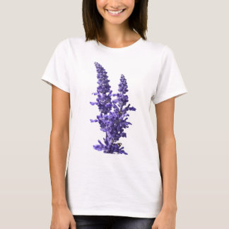 blue sage flour in bloom in spring T-Shirt