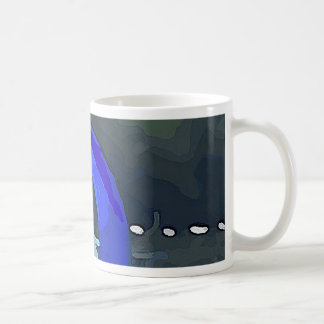 Blue Sailboat Coffee Mug