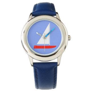 Blue Sailboat Watch