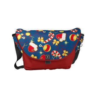 Blue - Santa's cap Commuter Bag