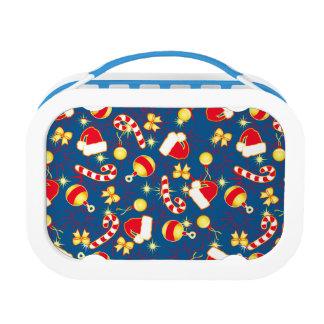 Blue - Santa's cap Lunch Box