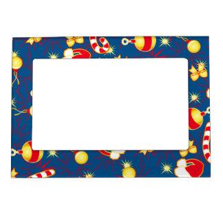 Blue - Santa's cap Magnetic Frame