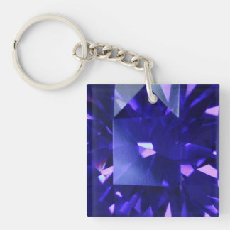 Blue Sapphire 2 Key Ring