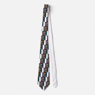 Blue Sapphire Abstract Low Polygon Background Tie