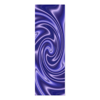 blue satin bookmark pack of skinny business cards