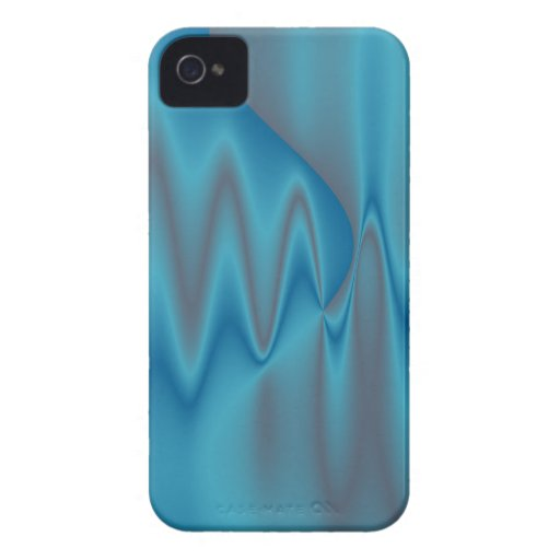 blue satin fire Case-Mate blackberry case