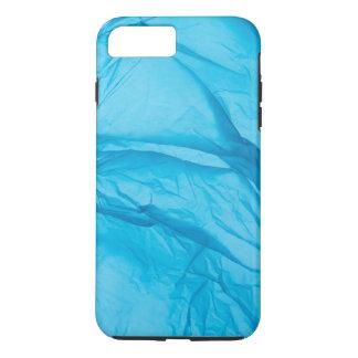 Blue Satin iPhone 7 Plus Case