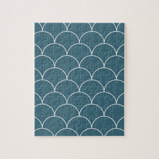 Blue scales jigsaw puzzle
