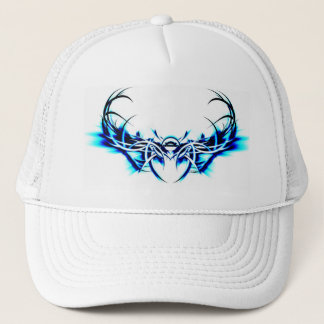 Blue Scarab Trucker Hat