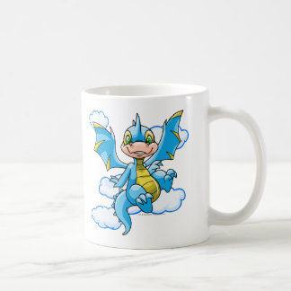 Blue Scorchio with his head in the clouds Coffee Mug