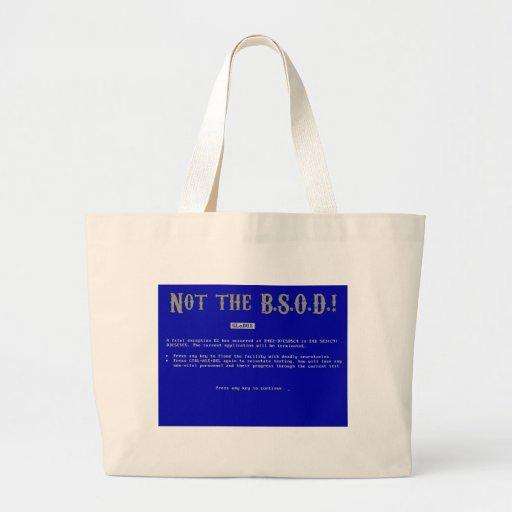 Blue Screen of Death Bag