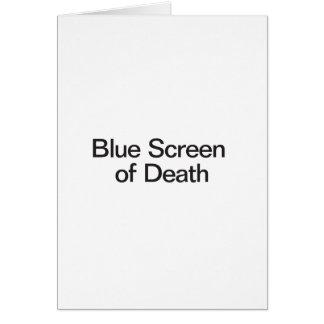 Blue Screen of Death Card