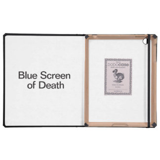 Blue Screen of Death iPad Covers