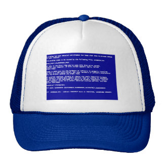 Blue Screen of Death Hat