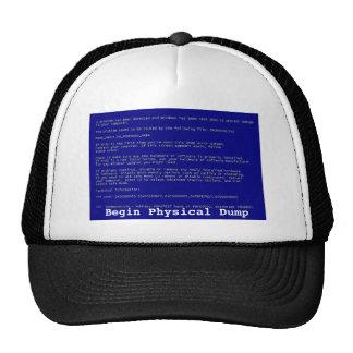 Blue Screen of Death Mesh Hat