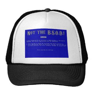 Blue Screen of Death Trucker Hats