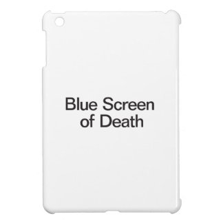 Blue Screen of Death iPad Mini Cases