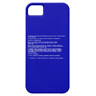 Blue Screen of Death iPhone 5 Cover