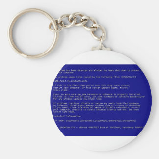 Blue Screen of Death Key Chains