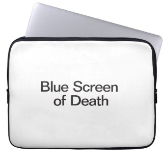 Blue Screen of Death Laptop Sleeve