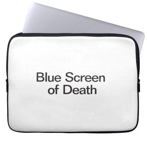 Blue Screen of Death Laptop Sleeve