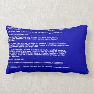 Blue Screen of Death Lumbar Cushion