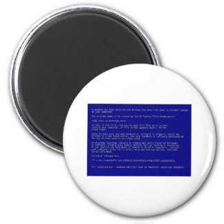 Blue Screen of Death Magnet