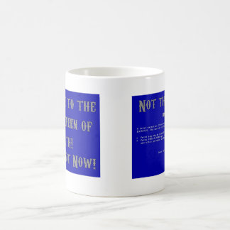 Blue Screen of Death Basic White Mug