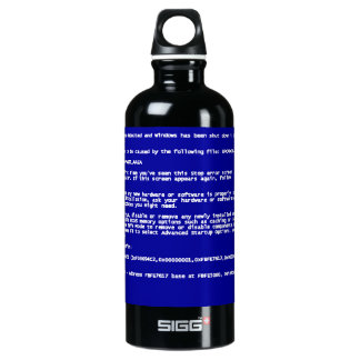 Blue Screen of Death SIGG Traveller 0.6L Water Bottle