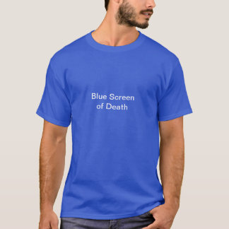 Blue Screen of Death T shirt