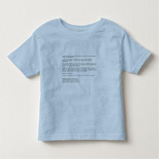 Blue Screen of Death Toddler T-Shirt