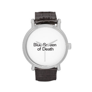 Blue Screen of Death Wristwatches