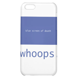 Blue screen of death - whoops! iPhone 5C covers