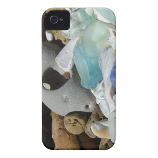 Blue Sea Glass Blackberry Bold covers Beach