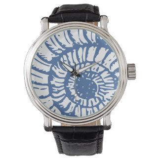 Blue Sea Snail Shell Wristwatches