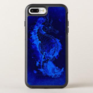 Blue Seahorse Painting OtterBox Symmetry iPhone 8 Plus/7 Plus Case