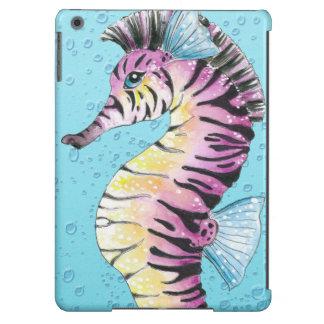 Blue Seahorse Zebra Case For iPad Air
