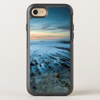 Blue seascape at sunset, California OtterBox Symmetry iPhone 8/7 Case