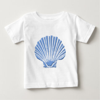 Blue Seashell Baby T-Shirt