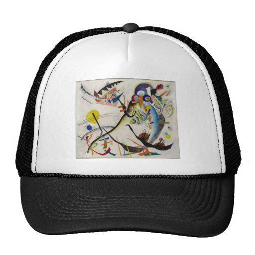Blue Segment Mesh Hats