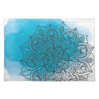 Blue send it placemat