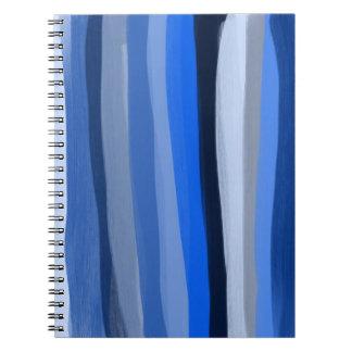 Blue Shades Notebook