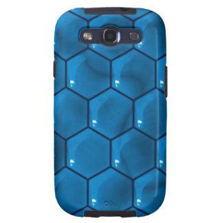 BLue Shaped Print Galaxy Cases Galaxy SIII Case