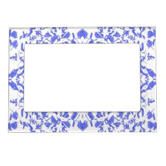 Blue Shapes Magnetic Frame