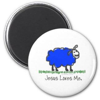 Blue Sheep Magnets
