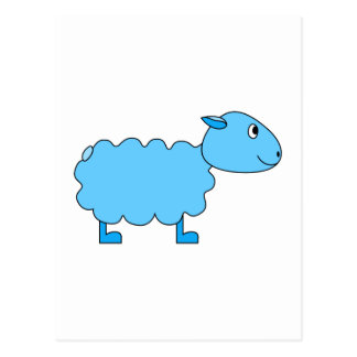 Blue Sheep Post Cards