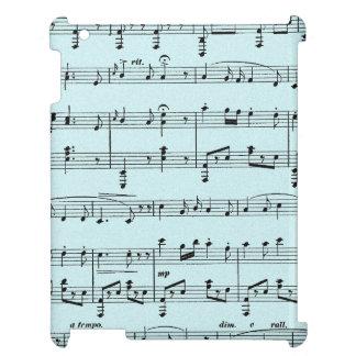 Blue Sheet Music iPad Covers