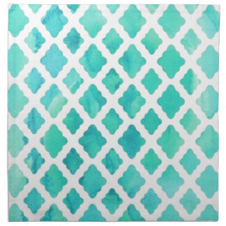 Blue Shell Pattern Napkin