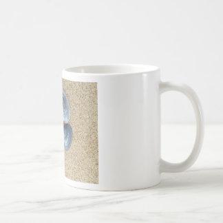 Blue shells coffee mug